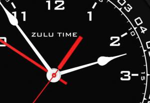 Zulu Time Wall Clock